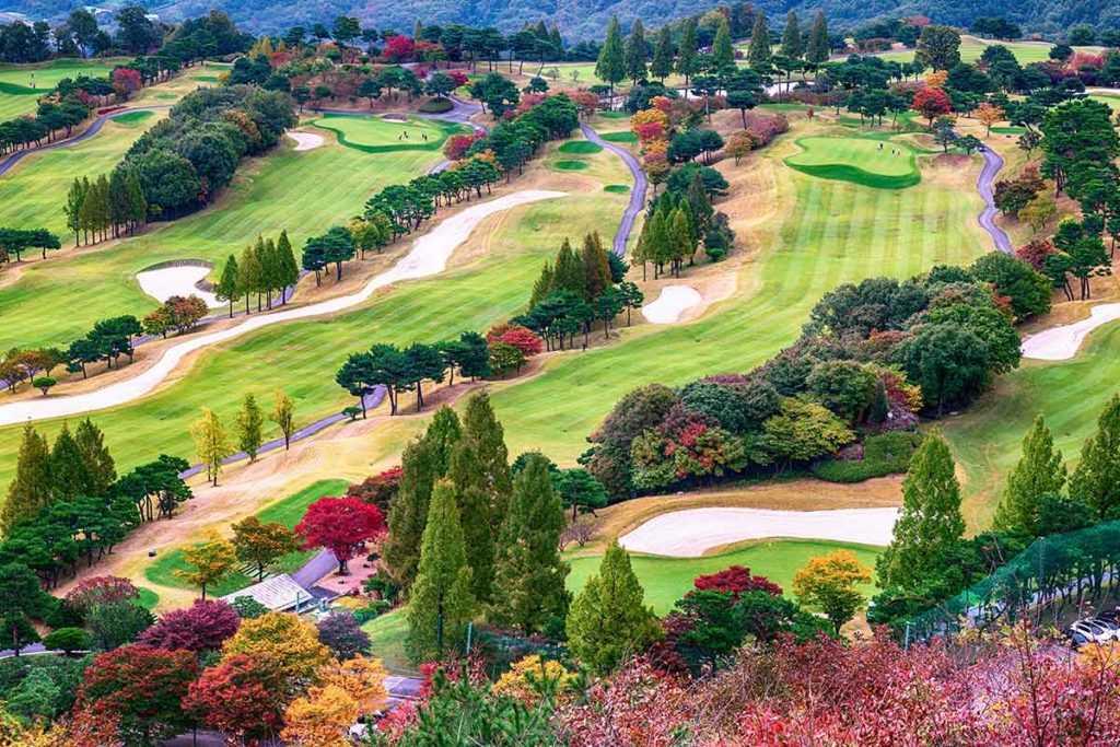Golfplatz Golf Golfsport