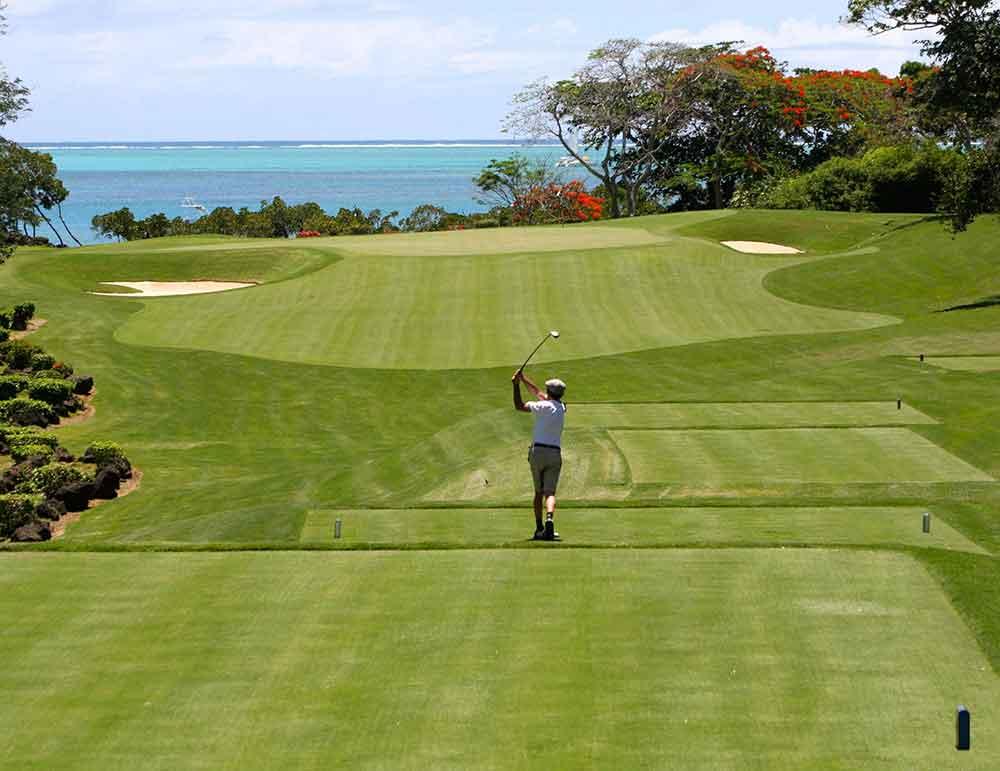 Golfrasen Golf Golfsport